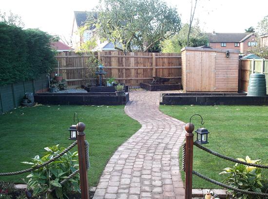 Garden Design And Modernisation - Meppershall - RW Landscapes - Innovative Garden And ...