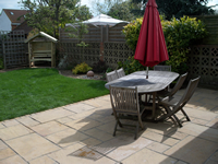 Back Garden Patio - Baldock
