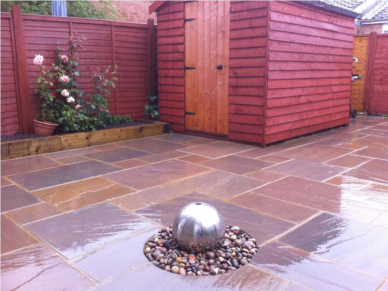 Full Feature Back Garden Patio Putnoe Bedford RW